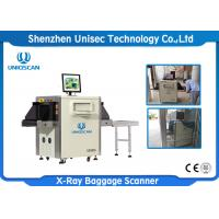 Buy cheap Small Size X Ray Baggage Scanner / Airport X Ray Machine Tunnel Size 500*300 from wholesalers
