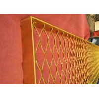China Aluminum Metal Screen Facade, Expanded Metal Mesh For Cladding Window Divider wholesale