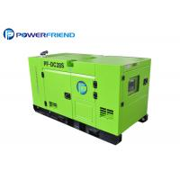 China Powered By Cummins 20kw Diesel Electric Generator With Stamford Alternator on sale