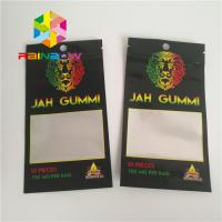 Printed Foil Laminated Mylar Ziplock Stand Up Pouches Mmj Weed Cannabis