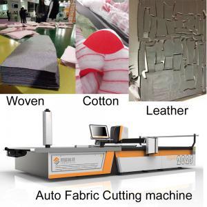 China Knit Garments Textile Sample Cutting Machine For Walmart Sears Kohls JC Penney Tigger wholesale