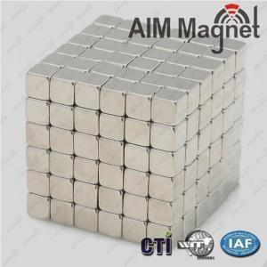China Excellent Neodymium Magnet Cube wholesale