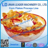 China Corn flakes processing line,2015 hot sale cereal corn flake equipment on sale