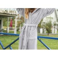 China Extrem Soft Polar Coral Fleece Hotel Quality Bathrobes For Men And Woman wholesale