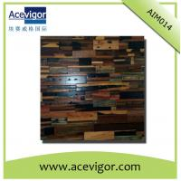 China Rustic antique wood mosaic tiles for wall decoration or artistic vision wholesale
