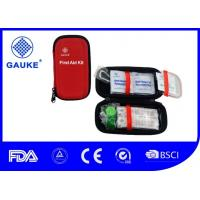 China Private Label Outdoor First Aid Kit EVA Hard Case With Carabiner / Key Chain wholesale