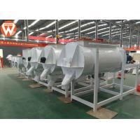 China Horizontal Animal Livestock Poultry Feed Mixer Round 1 Ton / P High Efficiency wholesale