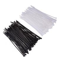 China Stainless Steel Barb Nylon Cable Ties / Outdoor Zip Ties 4.8mm Width wholesale