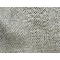 Quality ripstop conductive silver fabric for touch screen use 100%silver for sale