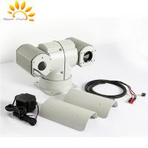 China Dual Sensor PTZ Thermal Imaging Camera , Railroad Security Camera wholesale