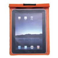 Fashion PVC plastic waterproof pouch bag for tablet pc / ipad / samsung