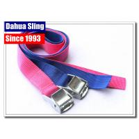 China Lightweight Cam Buckle Straps Cargo Lashing Belt 350kgs Breaking Strength wholesale