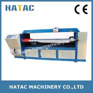 China Automatic Paper Composite Cans Cutting Machine,Tube Cardboard Slitting Machinery,Paper Tube Cutting Machine wholesale