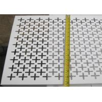 China Plain Weave Style Decorative Metal Sheets 1.22x2.44m Panel Size Panel And Coil Sku Type wholesale
