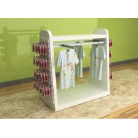 China Color Printed Children'S Clothing Display Racks / Baby Clothes Display Stand wholesale