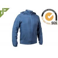 China Blue Military Tactical Jackets Sun Protective 100% Cotton With Adjustable Cuff on sale