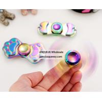 Buy cheap Wholesale Rotation Time long Tri fidget hand spinner toys fast bearings EDC spinner from wholesalers