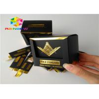 China Embossed Printing Paper Box Packaging Small Commodity Product With Window wholesale