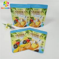China Tea Powder / Coffee Packaging Stand Up Zipper Pouch Zipper Locked Matte Doypack Bags wholesale