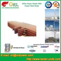 China Low Pressure Boiler Super Heater Alloy Steel , Pendant Superheater Customized wholesale