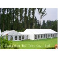 Long Span Outdoor Vendor Tents 5M 10M 15M Ridge Height 15 Years Warranty