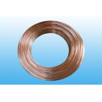 China Steel Evaporator Tube 6.35 * 0.65 mm , Low Carbon Copper Coated wholesale