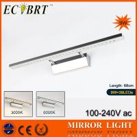 China 9w Bathroom Lighting Stainless Steel Mirror-Front Light l#5550 7W 680mm long*ECOBRT wholesale
