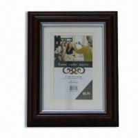 China Photo Frame, Made of Plastic, Available in Various Colors and Sizes wholesale