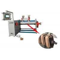 China SGS CNC Transformer Automatic Coil Winding Machine With Two Wire Guide wholesale