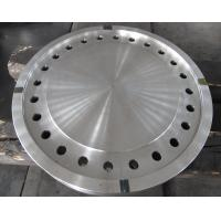 China Forged Disc Tube Sheet Finish Machined For Heat Exchanger , Stainless Steel Brake Discs wholesale