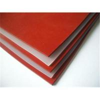 China Red silicone rubber sheet wholesale