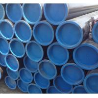 Buy cheap Beveled Ends Steam Boiler Tubes With Plastic Caps And Black Painting from wholesalers