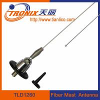 China 1 section fiber mast car antenna/ stainless steel mast car antenna/ active radio antenna TLD1260 wholesale