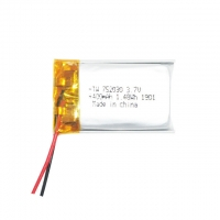 China 400mAh 3.7v Li Ion Polymer Battery For Digital Products wholesale