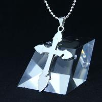 China Fashion Top Trendy Stainless Steel Cross Necklace Pendant LPC270 wholesale