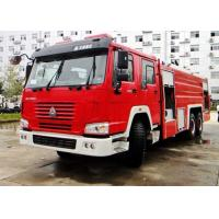 China SINOTRUK HOWO Modern Fire And Rescue Vehicles Sprinkling Truck Equipment wholesale