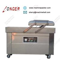 China ​Industrial High Speed Meat Double Chamber Vacuum Packaging Machine Price on sale