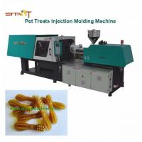 China Pet Treats / Dog Chewing Automatic Injection Moulding Machine With Servo Motor on sale