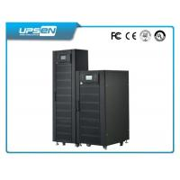 China 3 Phase Double Conversion Online UPS 380VAC Neutral Ground Industry wholesale