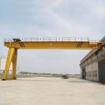 China Heavy Duty Semi Gantry Crane / 5T 10T Mini Single Girder Gantry Crane wholesale