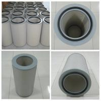 China pleated Air dust filter cartridge for dust collector of steel grinding processing on sale