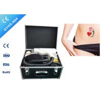 China Painfree ND YAG Laser Tattoo Removal Machine , Tattoo Laser Equipment  For All Color on sale