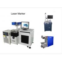 China Metal Hole Punching Machine 20W , Ceramic Disc Laser Engraver Machine wholesale