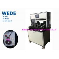 China Quick Running Ceiling Fan Motor Winding Machine With Less Wire Delta HMI on sale