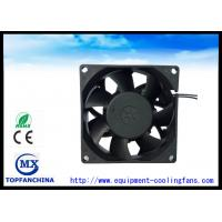 China 2 . 3W Industrial Axial Fans / Metal Frame Vane Axial Fan 80mm X 80mm X 38mm wholesale