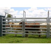 Buy cheap 1.8 x 2.1MHeavy Duty Cow Panel Livestock fence panels 6 Oval 2mm thick M from wholesalers