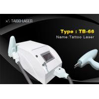 China 3 Wavelength Portable ND YAG Laser Tattoo Removal Machine , Eyebrow Removal Machine on sale