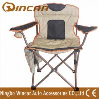 Quality 600D Polyester cloth folding Outdoor Camping Chairs for big beach for sale