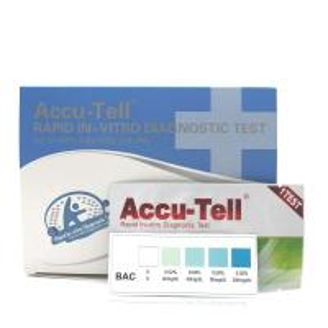 China Accu-Tell® Alcohol Rapid Test Strip (Saliva) wholesale