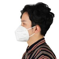 China Elastic Ear-Loop Dust Face Mask , Dust Mask Respirator For Outdoor Activities wholesale